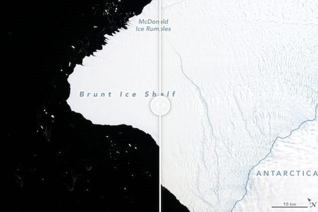 Frattura in Antartide, iceberg grande due volte New York a rischio distacco: le conseguenze